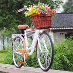 Buy cheap willow wicker bike basket from wholesalers