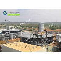 Buy cheap Beautiful Appearance Wastewater Storage Tanks For Wastewater Treatment Plant from wholesalers