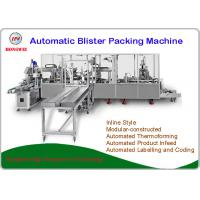 Buy cheap Fully Automatic Blister Machine , PLC Control Blister Card Packaging Machine from wholesalers