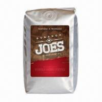 Buy cheap Big Coffee Pouches, Made of Aluminum Foil Material, Standup/One-way Degassing Valve, Moisture-proof from wholesalers