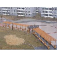 Buy cheap WPC Outdoor Furniture , Waterproof Pavilion Bridge and Green Corridor for Landscape from wholesalers