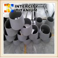 Buy cheap Astm B363 Pipe Fittings Gr2 titanium concentric reducer from wholesalers
