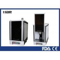 Buy cheap Fiber Laser Etching Machine , 20w Metal Etching Machine With Fully Enclosed Cabinet from wholesalers