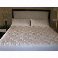 Buy cheap Cotton Mattress Pad, Customized Sizes are Accepted from wholesalers