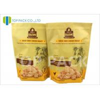 Heat Sealing 6oz Stand Up Food Pouches With Zipper , Customized Logo Manufactures