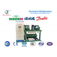 R404a Bitzer Brand Screw Type Cold Room Compressor Unit For Water Chiller Manufactures