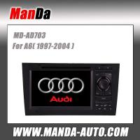 Buy cheap Manda 2 din car stereo for Audi A6 (1997-2004) car multimedia system satellite gps in-dash dvd from wholesalers