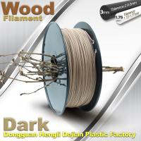Wholesale Anti Corrosion Wooden Filament For 3D Wood Printing Material 1.75mm / 3.0mm from china suppliers