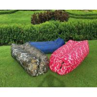 Buy cheap Outdoor Camping Inflatable Sleeping Bag 190T Terylene Material Quick Inflation from wholesalers