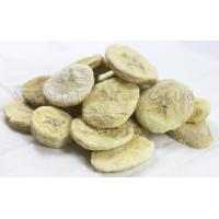 Buy cheap Healthy Freeze Dried Fruits Snacks Freeze Dry Banana Slices None Preservatives from wholesalers