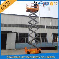 Buy cheap Self Propelled Scissor Lifts Hire , Hydraulic Mobile Elevated Work Platform from wholesalers