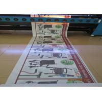 Wholesale One Way Vision Custom Waterproof Stickers , Car Window Advertising Stickers from china suppliers