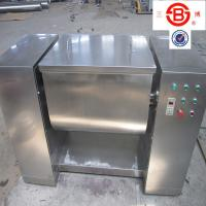 China 100 - 600L Notch Shape solid liquid mixing equipment , touch screen liquid mixer machine on sale
