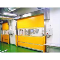 Buy cheap 2.0mm Stainless Steel Frame Electric High Speed Doors With English Man-Machine Interface from wholesalers