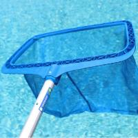 Wholesale Swimming Pool Cleaning Equipment Plastic Deep Leaf Skimmer from china suppliers