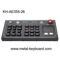 Buy cheap Resistant Ruggedized Desktop Keyboard with Plastic buttons and metal panel from wholesalers