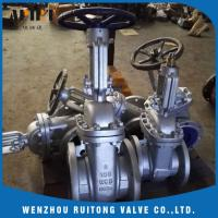 Wholesale API 6D 150LB 300lb cast steel wcb flange gate valve for industry from china suppliers