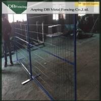 Buy cheap Canada temporary fence panels / solid metal fence panel from wholesalers