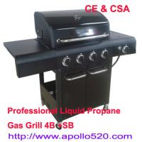 China 4 burner BBQ Outdoor Gas Grills on sale
