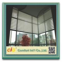 Buy cheap Polyester Home Textile Fabric Sheer Screen 400-600gsm 30 Meters Per Roll from wholesalers