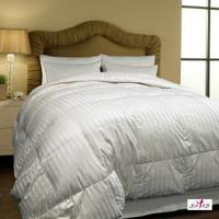 Buy cheap 100 % Cotton Fabric Personalized Microfiber White Queen Hotel Comforter from wholesalers