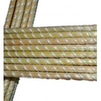 Buy cheap Multi-color Pultrusion High Tensile Glass Fiber FRP Fully Threaded Rod from wholesalers
