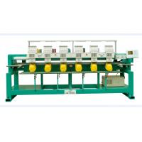 Quality 6 heads computerized embroidery machine for cap & t-shirt for sale
