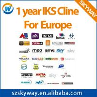 Buy cheap one year stable server IKS Cccam Cline for Europe Digital+ HD/premium from wholesalers