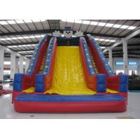 Buy cheap Quadruple Stitching Commercial Inflatable Water Slides Clown Design General inflatable high slide on sale from wholesalers