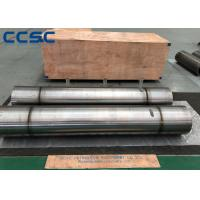 Buy cheap CCSC Hot Forged Parts Main Stepped Steel Shaft Wear Resisting Long Term Usage from wholesalers