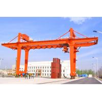 Buy cheap Customized Shipping Container Crane RMG Mobile Traveling Quayside Gantry Crane from wholesalers