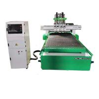 Buy cheap S1325 Hsd Spindle 4 Process 4x8 Woodworking CNC Machine For Furniture Manufacturing from wholesalers