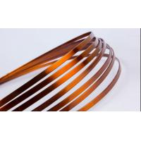 Wholesale Super Thin Flat Transformer Copper Wire Solderability 0.8 - 5.6mm High Solvent Resistance from china suppliers
