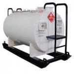 Buy cheap YG35 Bullet Resistance Diesel Fuel Tank for diesel engine and generator from wholesalers