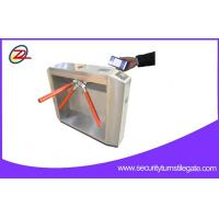QR Bar Code Ticketing System Tripod Turnstile Gate For Scenic spot Manufactures