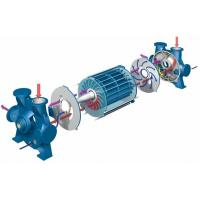 Buy cheap 2BE1 series water ring vacuum pump inspiratory capacity can reach 22500 m3/h from wholesalers
