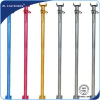 Buy cheap 4.74kg--30kg Adjustable Steel Props / Scaffolding Prop Jack For Formwork Supporting from wholesalers