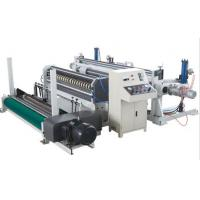 Buy cheap 380V Paper Slitter Rewinder Machine , High Speed Paper Board Making Machine from wholesalers