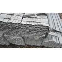 Buy cheap ERW Square Galvanized Scaffolding Tubes , Welded Pipe for Construction from wholesalers