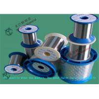 Buy cheap SS 201 202 304 Stainless Steel Dull Cold Rolled Wire for Knitting Net , SGS BV Certificate from wholesalers