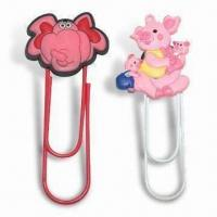 Wholesale Bookmark, Made of Soft PVC, Customized Designs are Welcome from china suppliers