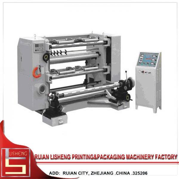 Quality Plastic / Paper High Speed Slitting Machine , slitter rewinder machine for sale