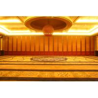 Buy cheap Custom Made Building Design Decorative Panel Restaurant Movable Partition MDF Panel Customizable Color for Banquet Hall from wholesalers