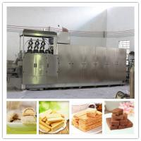Buy cheap SAIHENG 304 stainless steel automatic wafer biscuit making machine for sale from wholesalers