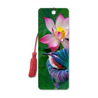 Wholesale High Definition 3D Lenticular Bookmark 6 x 12 cm 4 Colors Customized from china suppliers