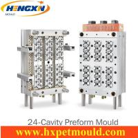 24 cavity PET preform mold with Air shut off nozzle Manufactures