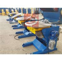 0.2 - 2 Rpm Rotary Welding Positioners With Wireless Remote Control Box / Foot Pedal Manufactures