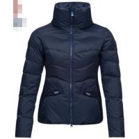 Buy cheap Mid Thickness Ladies Quilted Puffer Jacket , Breathable Womens Warm Puffer Coat from wholesalers