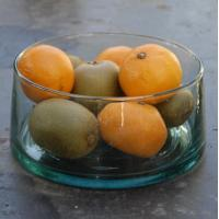 Wholesale promotional glass salad bowl and plate,colorful glass salad bowl from china suppliers