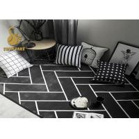 Buy cheap Yellow / White Pattern Living Room Floor Rugs With Anti Slip Layer Various Pattern from wholesalers
